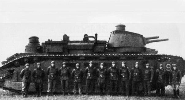 Это самый большой танк, созданный за историю человечества