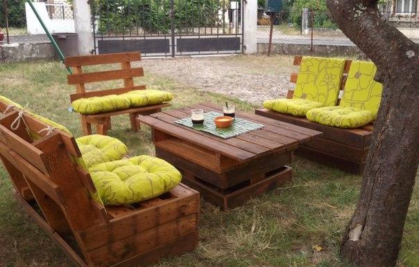 Садовая мебель своими руками мастер классы 32