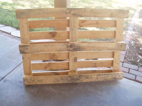 Bench from pallets. #DIY_Идеи