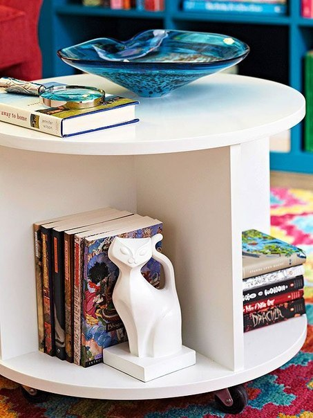Круглый столик своими руками. #DIY_Идеи