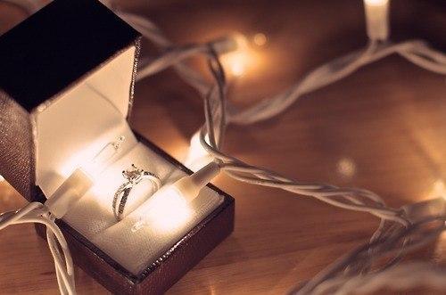 Кольцо сделать предложение новый год