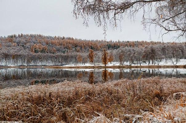 Озеро Песчаное, Южный Урал. Автор фото: Алексей Туракин.