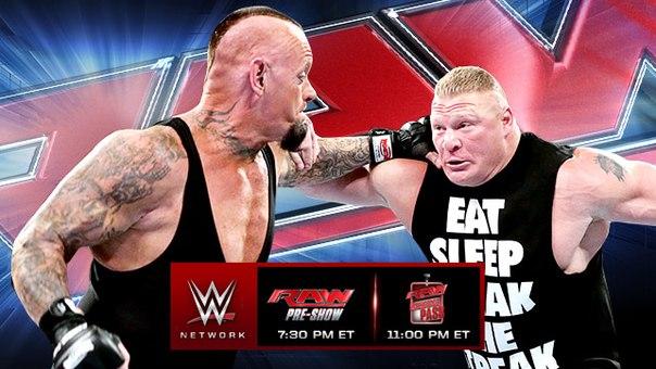 Raw 31 марта