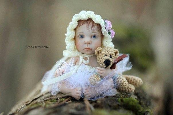 Когда смотришь на кукол, созданных талантливой псковской художницей Еленой Кирил...