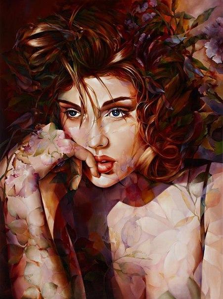 Абстрактная живопись от художника Wendy Ng