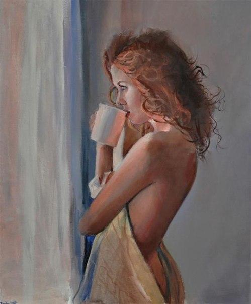 Женские портреты от польского художника Emilii Wilk