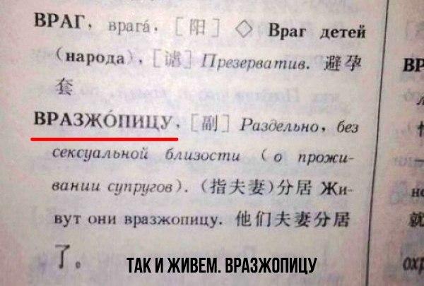 Сумасшедшие учебники русского для иностранцев. Вот почему мы не понимаем друг друга, даже когда говорим на одном языке: ↪