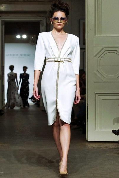 В Москве состоялся показ весенне-летней коллекции 2013 Александра Терехова.