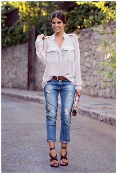 На улицу в джинсах. Джинсовая мода