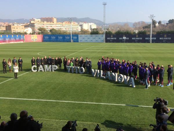 Тренировочное поле Барселоны переименовано в честь Тито Вилановы - изображение 1