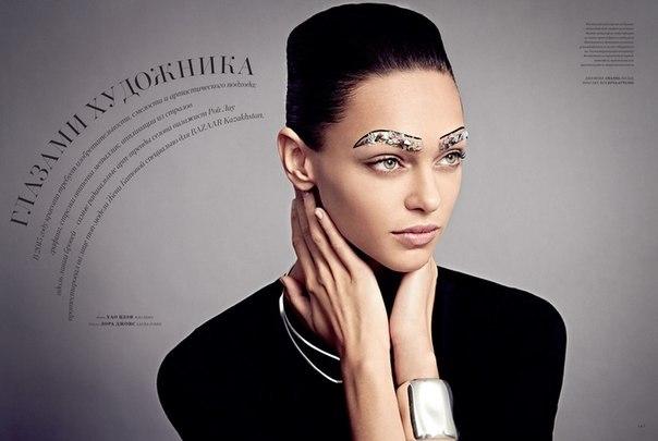 Фото Жени Катавы (Zhenya Katava) для майского выпуска журнала Harper's BAZAAR Kazakhstan