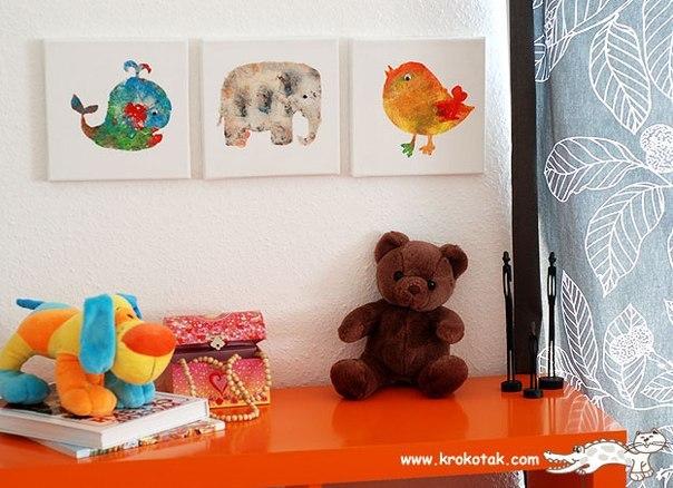 Творчество с детьми (9 фото) - картинка
