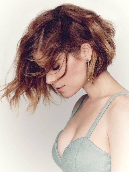 Кейт Мара на фотосессии для июньского номера журнала «Glamour»