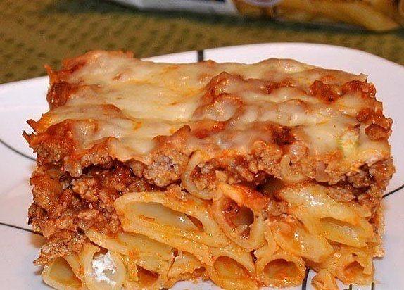 Запеканка с фаршем и макароны с сыром #6