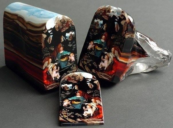 Миллефиори — старинная техника итальянских стеклодувов, при которой рисунок на с...