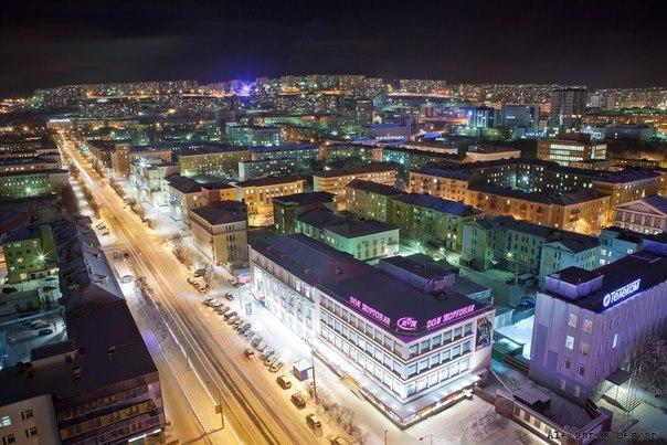 Доброй ночи, Мурманск!