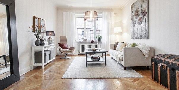 Квартира в Швеции площадью 88 кв.м. (7 фото) - картинка
