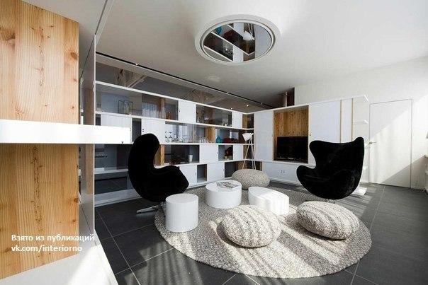 Мансардная квартира в Арве, Франция.