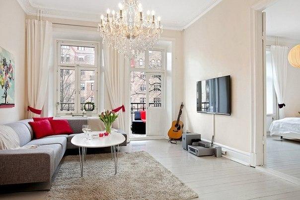 Квартира в Швеции площадью 87 кв.м. (6 фото) - картинка