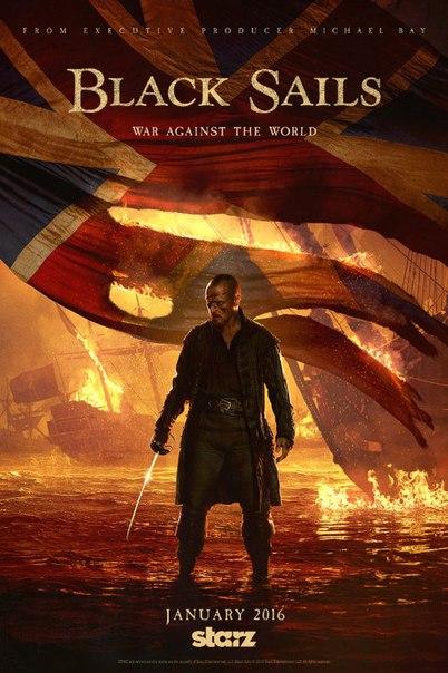 Черные паруса 1-3 сезон 1-10 серия AlexFilm | Black Sails