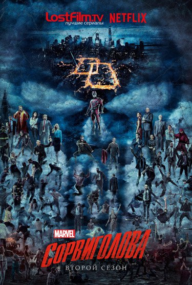 Сорвиголова 1-2 сезон 1-13 серия LostFilm | Daredevil