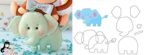 Materiales gráficos Gaby: Divertidos animales con sus patrones ...