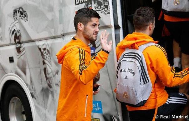 Отъезд команды в «Сьюдад Реал»