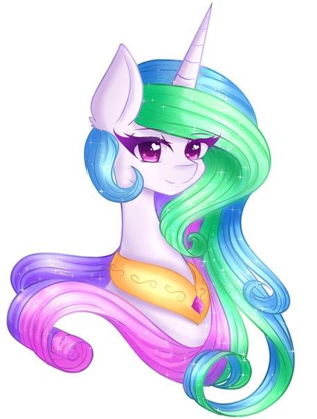 Как сделала красивая пони