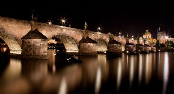 Карлов мост в Праге, Чехия. Автор фото — Андрей Ушаков
