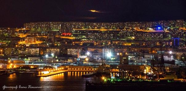 Зимний Мурманск.