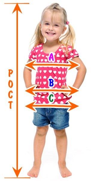Таблица детских размеров (3 фото) - картинка