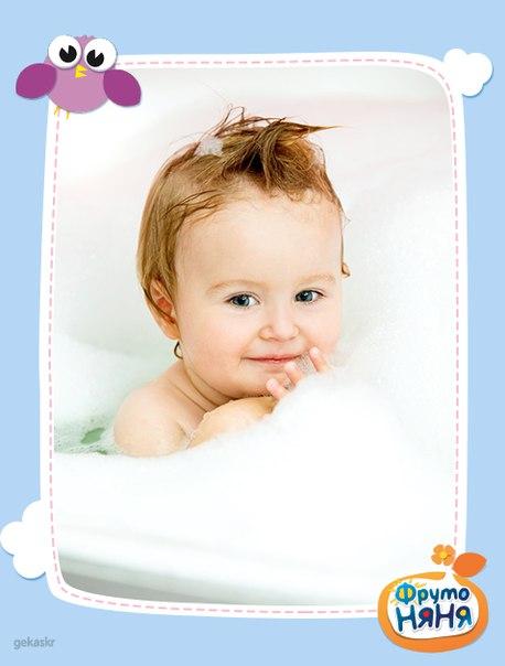 Гигиенические процедуры для малыша можно успешно совмещать с закаливанием. Детей...