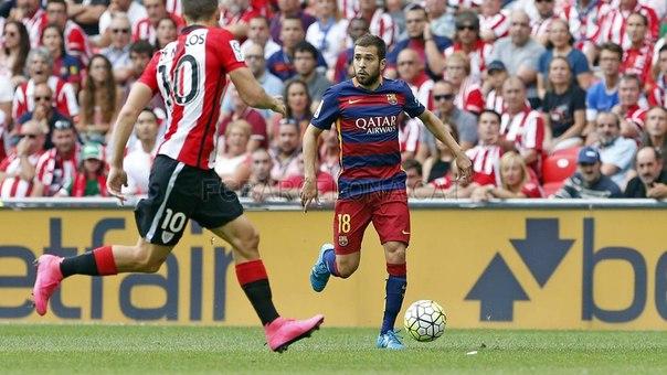 Альба: по игре «Барселона» превосходила «Атлетик»