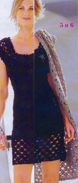 Маленькое кружевное платье. (3 фото) - картинка
