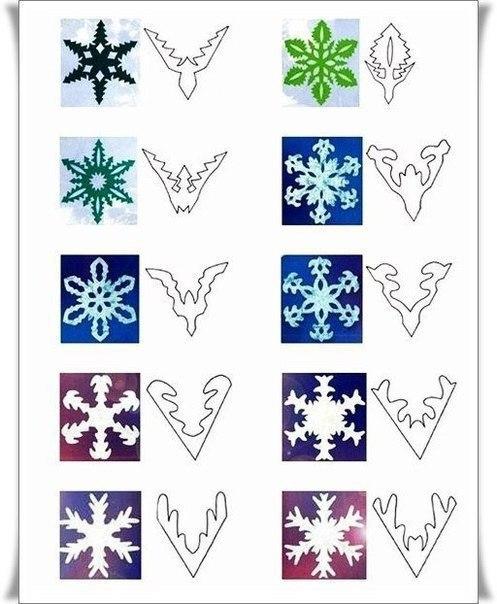 Заготавливаем снежинки (6 фото) - картинка
