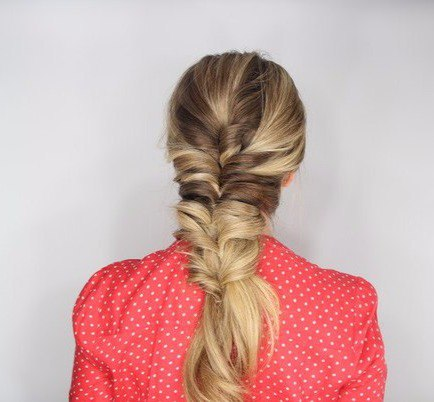 Причёска на основе резиночек (7 фото) - картинка