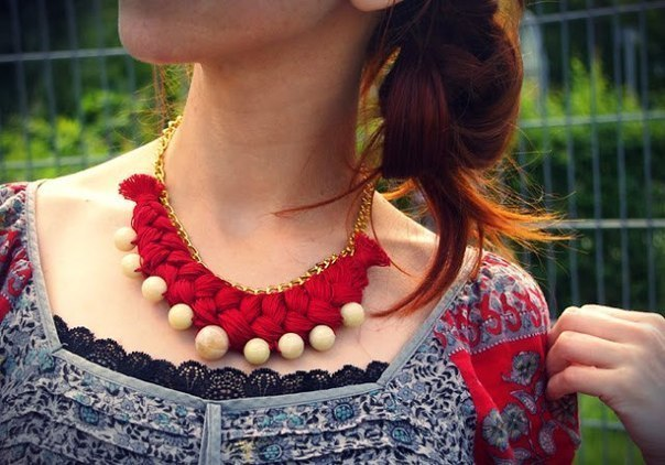 Ожерелье (8 фото)