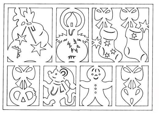объемные картинки своими руками из бумаги схемы