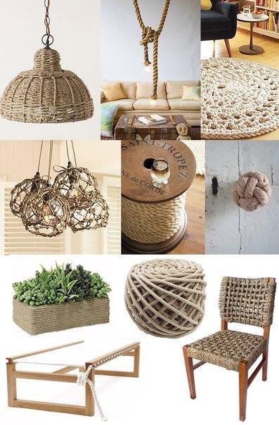 Декор с помощью бичевки (7 фото) - картинка