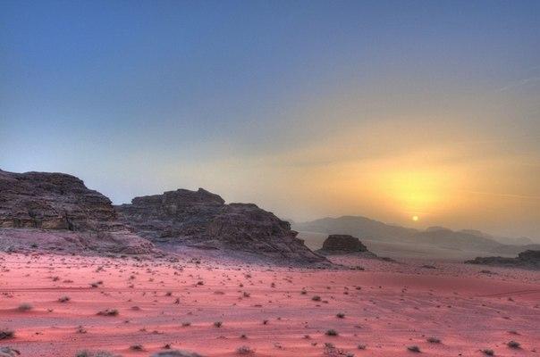 Пустыня Вади-Рам.