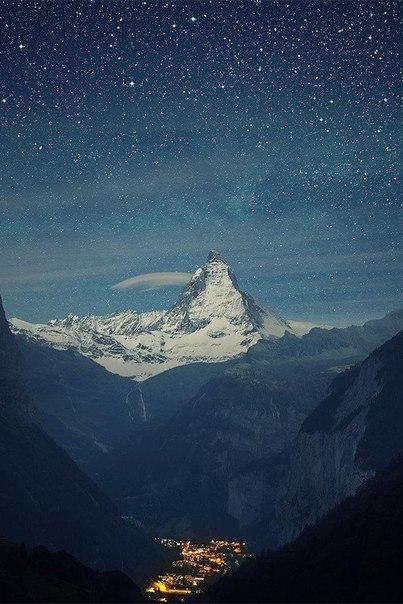 Звездная долина в Альпах