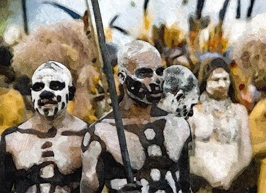 Как племя Кхоса поверило шаманке и потеряло весь свой скот и урожай