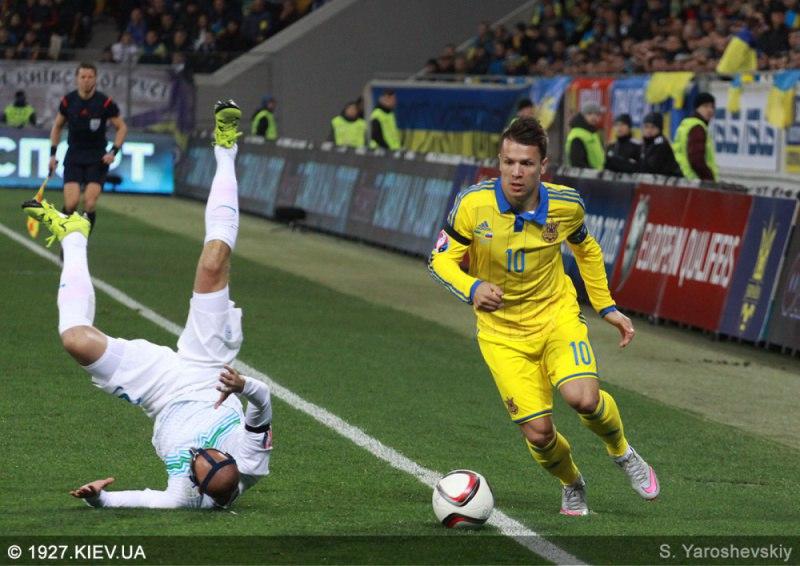 Сборная Украины обыграла Словению во Львове - Цензор.НЕТ 1712