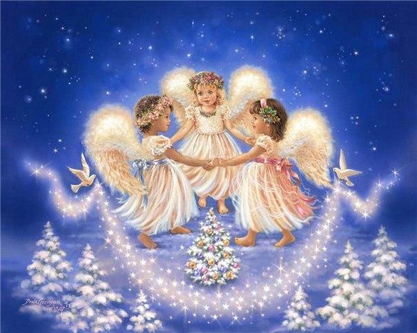 В Рождественскую ночь молю я небо,