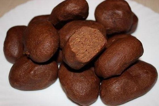 Шоколадная картошка пошаговый рецепт с 107