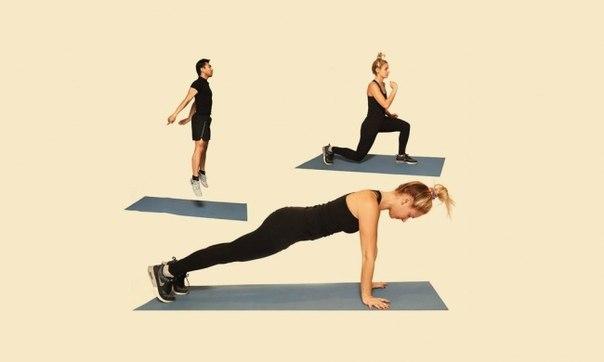 12 упражнений, чтобы привести себя в форму: ↪ Вот он, самый нужный пост после праздников!