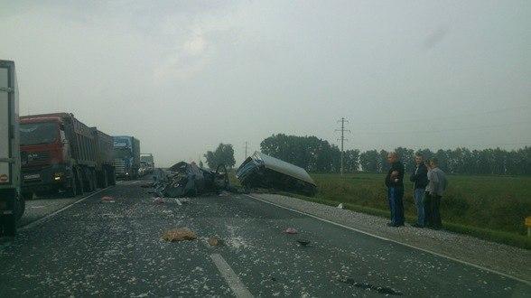 115 км Р256 М52 115 км ДТП авария Черепаново Новосибирск