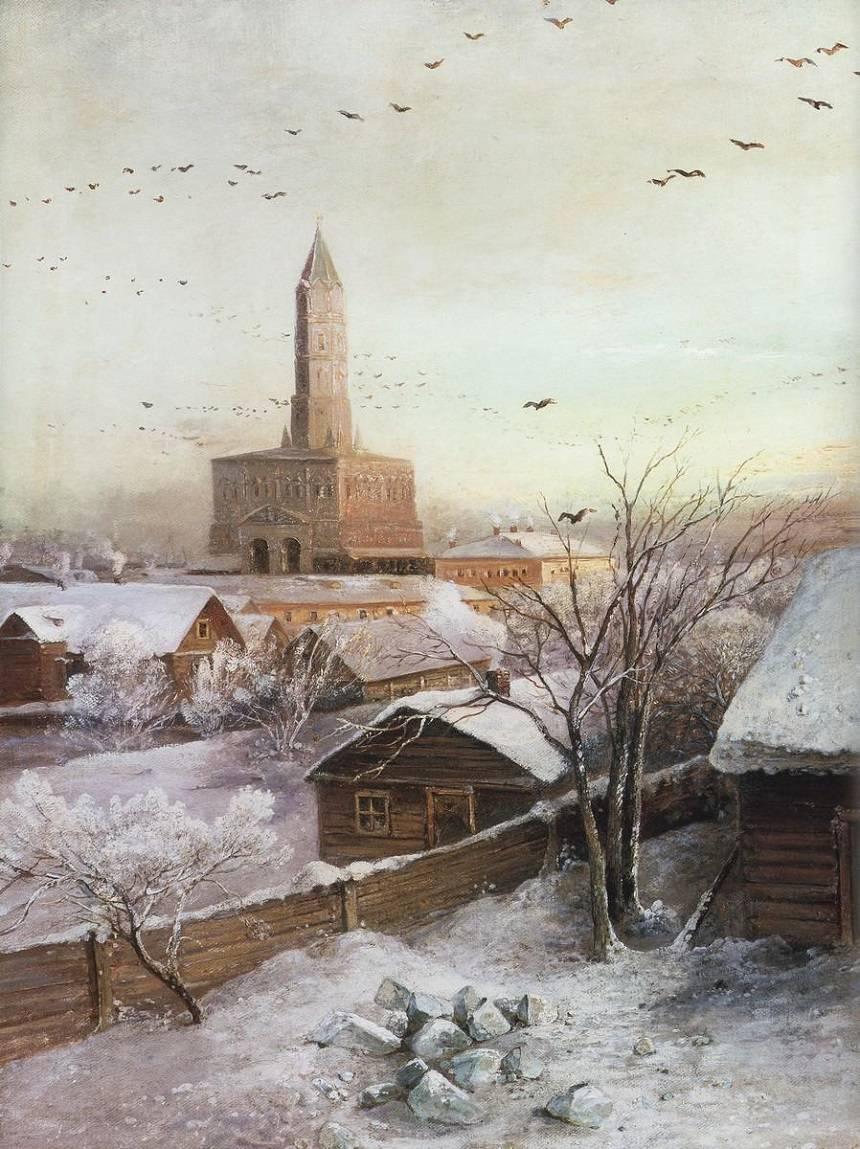 Зимние пейзажи А. К. Саврасова (1830 - 1897) UmIUs-v4IT0