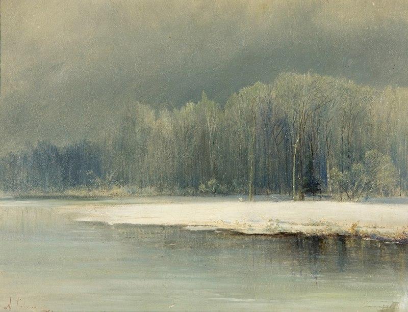 Зимние пейзажи А. К. Саврасова (1830 - 1897) ASXJCd62DwY