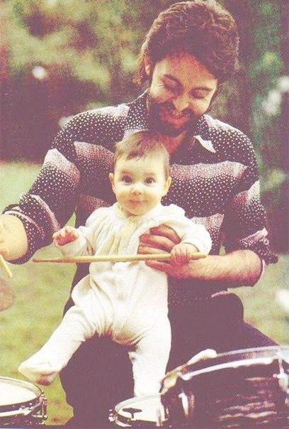 Пол Маккартни с дочерью Стеллой.
